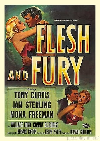 Poster of Flesh and Fury