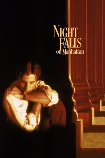 Poster of Night Falls on Manhattan