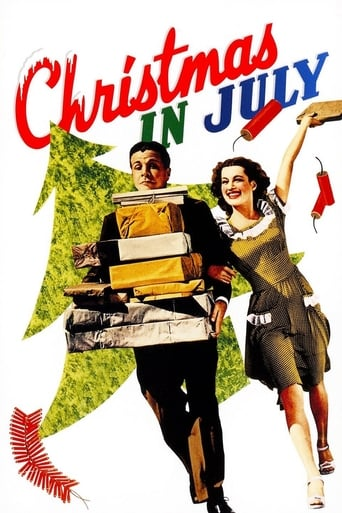 Christmas in July Movie Poster