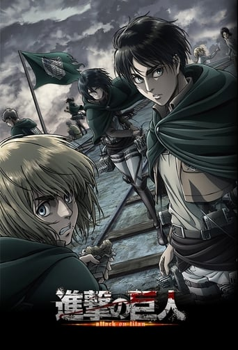 Ataque dos Titãs 1ª Temporada - Poster