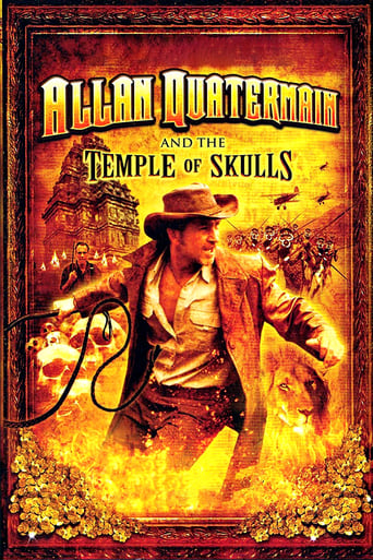 Poster of Allan Quatermain and the Temple of Skulls