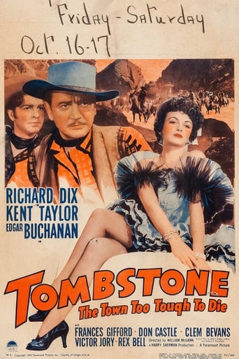 Poster of Tombstone: The Town too Tough to Die
