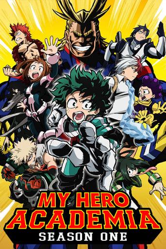 Boku no Hero Academia 1ª Temporada - Poster
