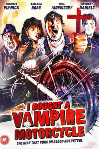 Poster of I Bought a Vampire Motorcycle
