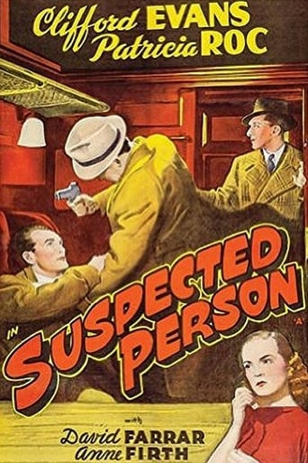 Poster of Suspected Person