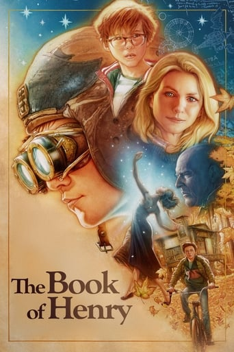 Official movie poster for The Book of Henry (2017)