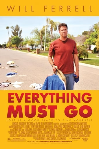 Poster of Everything Must Go
