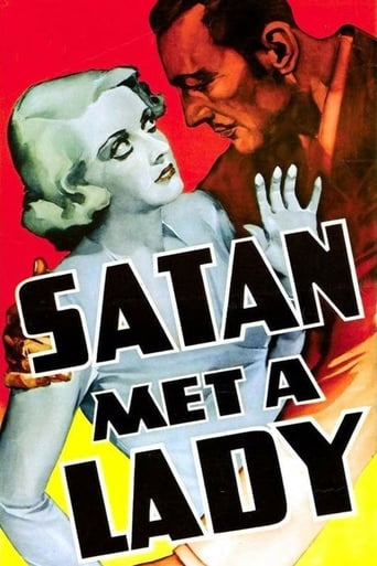 Poster of Satan Met a Lady