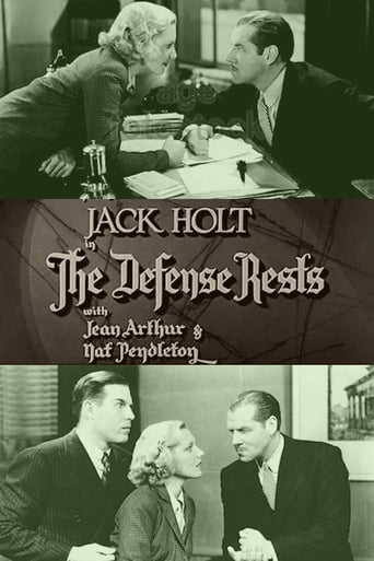 Poster of The Defense Rests