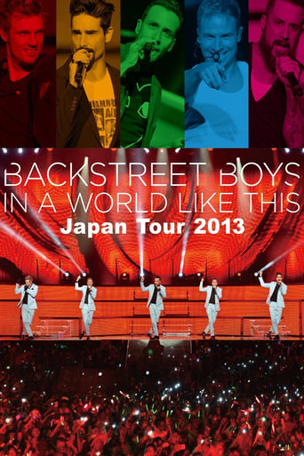Poster of Backstreet Boys - In a world like this (Japan Tour)