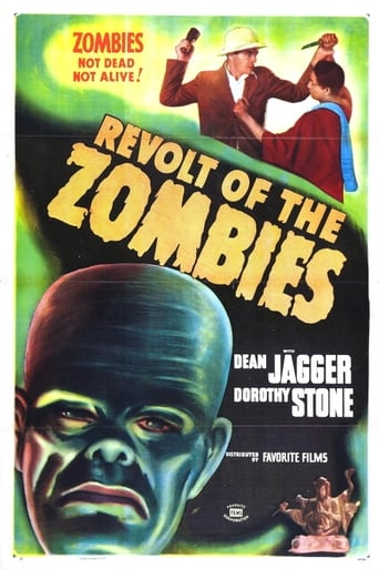 Poster of Revolt of the Zombies