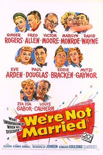 Poster of We're Not Married!