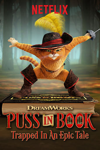 Poster of Puss in Book: Trapped in an Epic Tale