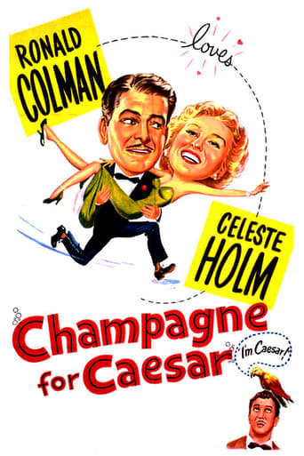 Poster of Champagne for Caesar