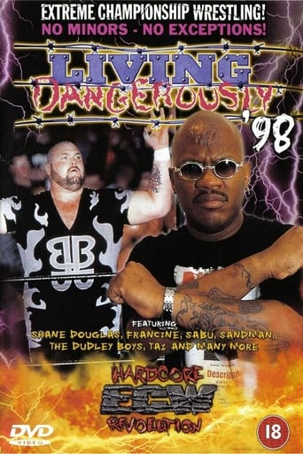 Poster of ECW Living Dangerously 1998