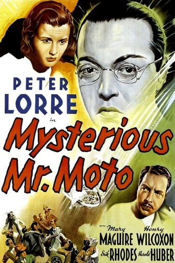 Poster of Mysterious Mr. Moto