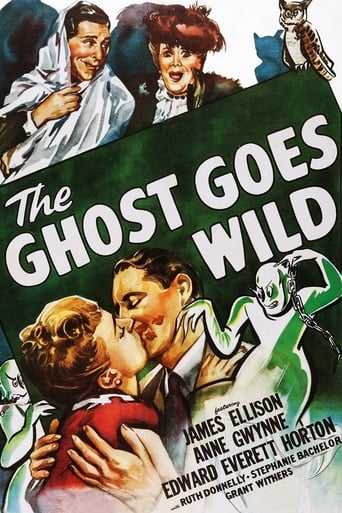 The Ghost Goes Wild Movie Poster