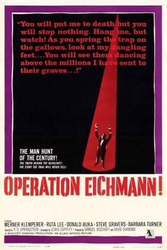 Poster of Operation Eichmann