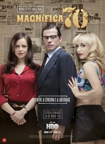 Magnífica 70 1ª Temporada - Poster