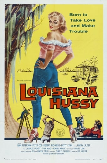Poster of The Louisiana Hussy