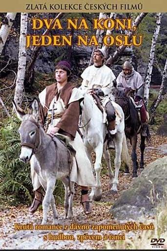 Poster of Dva na koni jeden na oslu