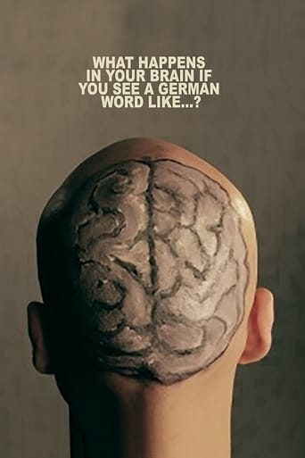 Poster of What Happens In Your Brain If You See a German Word Like...?