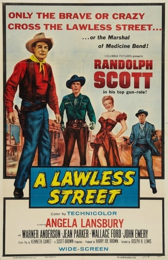 Poster of A Lawless Street