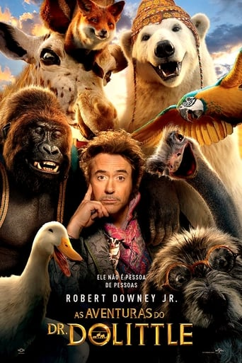 As Aventuras do Dr. Dolittle - Poster