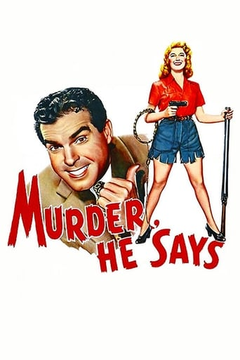 Poster of Murder, He Says