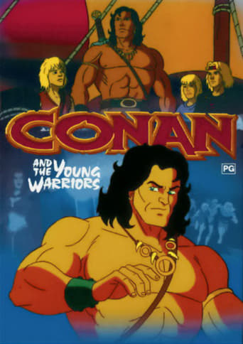 Poster of Conan and the Young Warriors