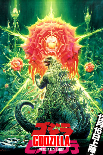 Poster of Godzilla vs. Biollante