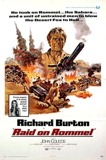 Poster of Raid on Rommel