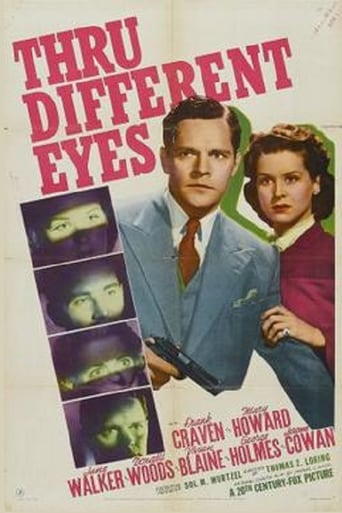 Poster of Thru Different Eyes