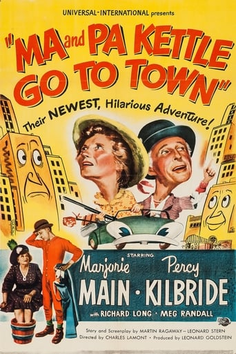 Poster of Ma and Pa Kettle Go to Town