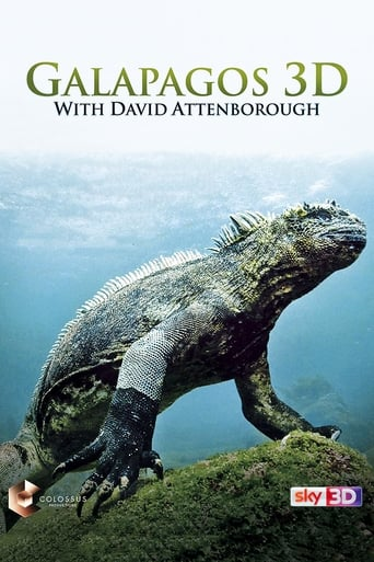Poster of Galapagos 3D with David Attenborough