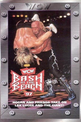 WCW Bash at the Beach 1997 Movie Poster