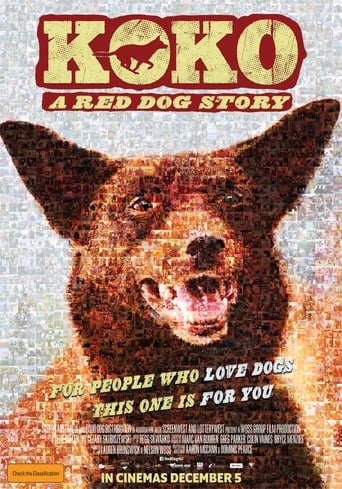 Koko: A Red Dog Story Poster