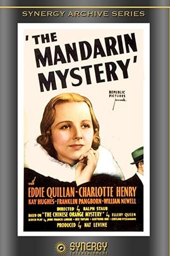 Poster of The Mandarin Mystery
