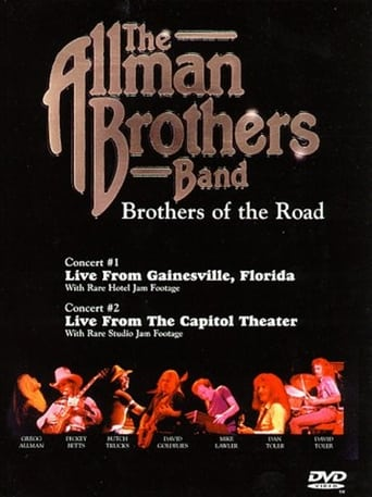 Poster of The Allman Brothers Band: Brothers of the Road