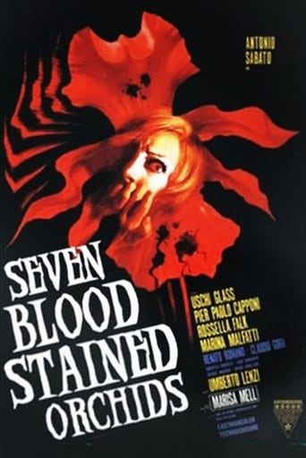 Seven Blood-Stained Orchids Movie Poster