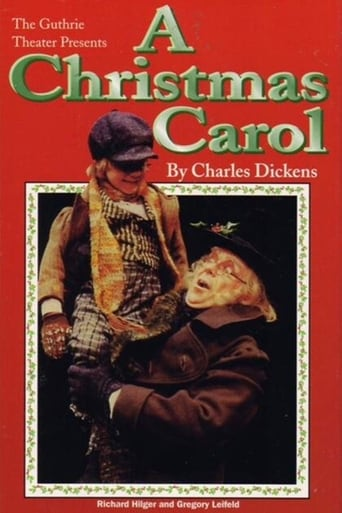 Poster of The Guthrie Theater Presents A Christmas Carol