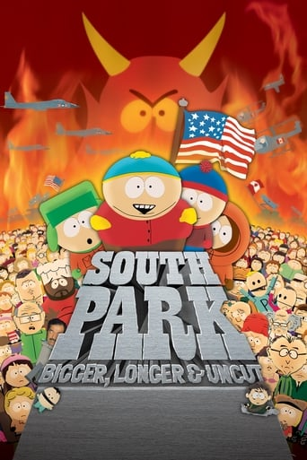 Poster of South Park: Bigger, Longer & Uncut
