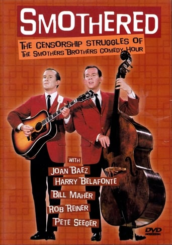 Poster of Smothered: The Censorship Struggles of the Smothers Brothers Comedy Hour