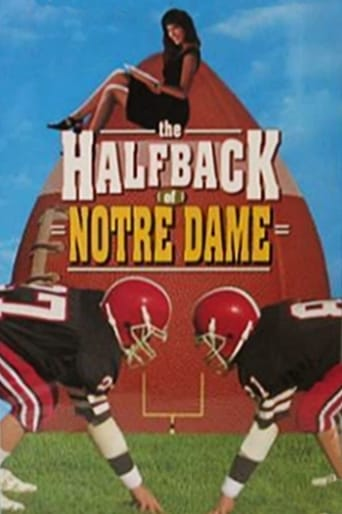 Poster of The Halfback of Notre Dame