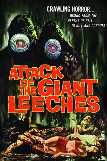 Poster of Attack of the Giant Leeches