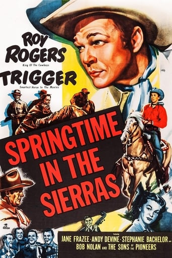 Poster of Springtime in the Sierras