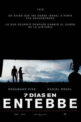 Poster of 7 días en Entebbe