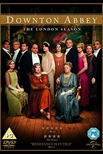 Poster of Downton Abbey: The London Season