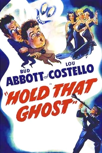 Poster of Hold That Ghost