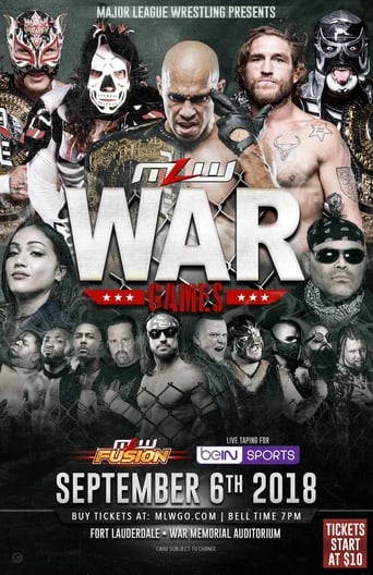 MLW War Games 2018 Movie Poster